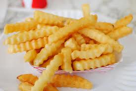 Potato- French Fries, Crinkle Cut